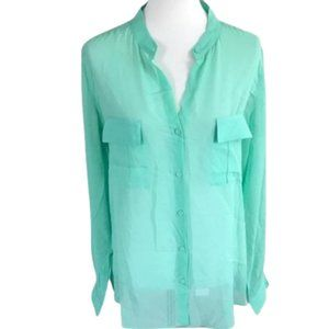 Erin Fetherston Silk Blouse Shirt Size M NWT